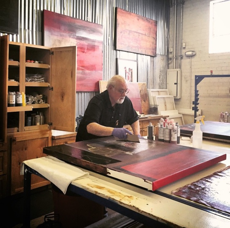 About the Venue Hosts - Phil Perry loves high performance Corvettes and is a Renaissance man of sorts. He is an avid abstract painter, a professional photographer and a furniture designer. His love of old warehouses drove his passion to create Rail Yard!