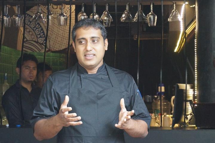 Chef Thashvin Muckatira