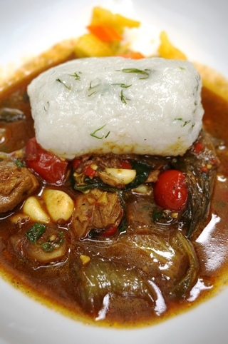 Chiang Mai Chicken Curry with Sticky rice