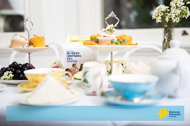 Brickfields Team is excited to be part of the #biggestmorningtea @cancercouncil . See you on the 24th 😊