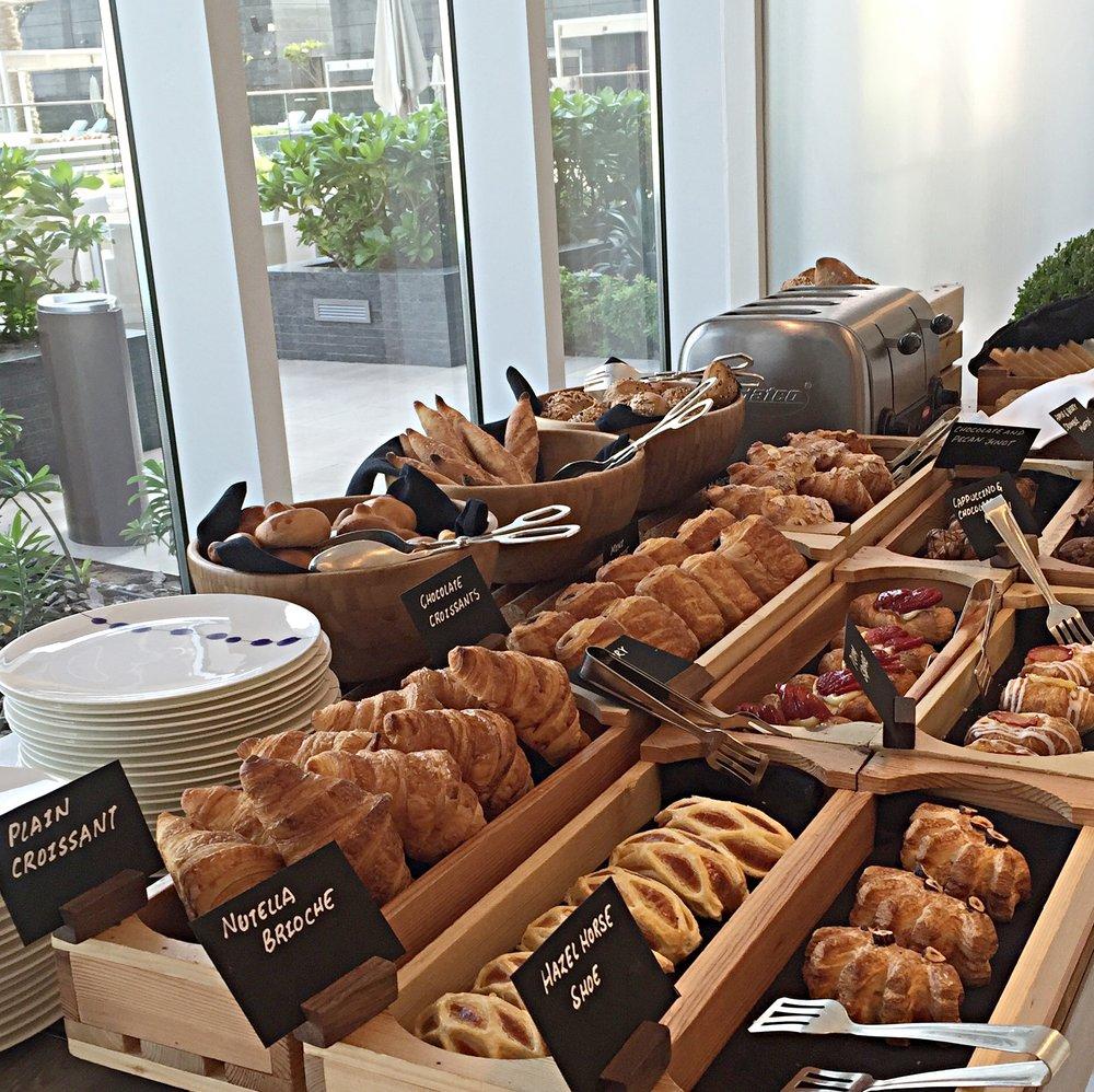 Breakfast pastries