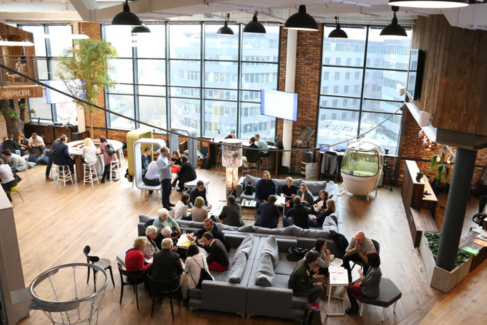 Work from a home office or co-work at the many co-working spaces available to partners around the world