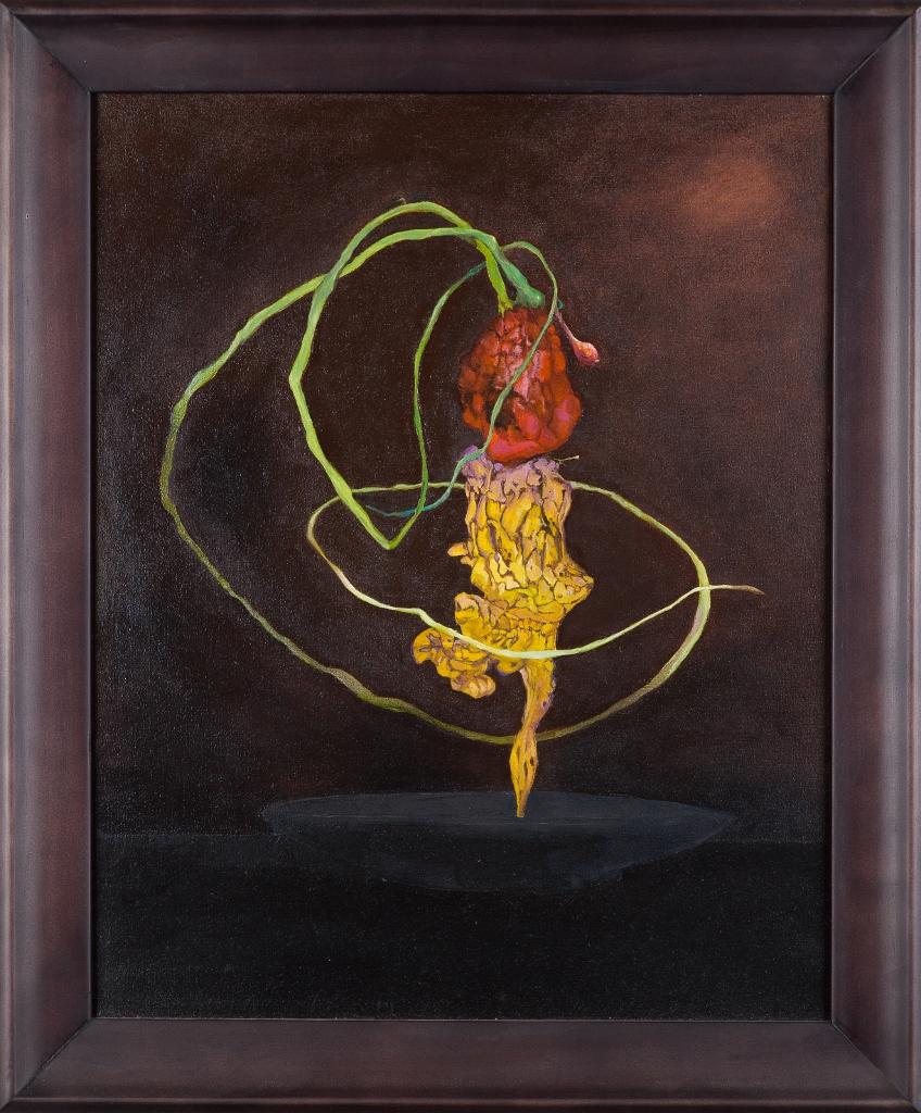 Tarantella, oil on canvas, 600mm x 500mm framed