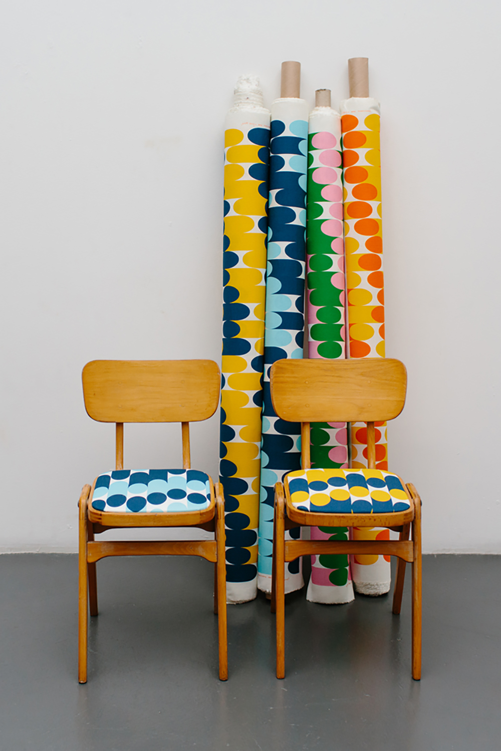colour + shape | Interior Design Studio | Cambridge - Laura Spring Textiles