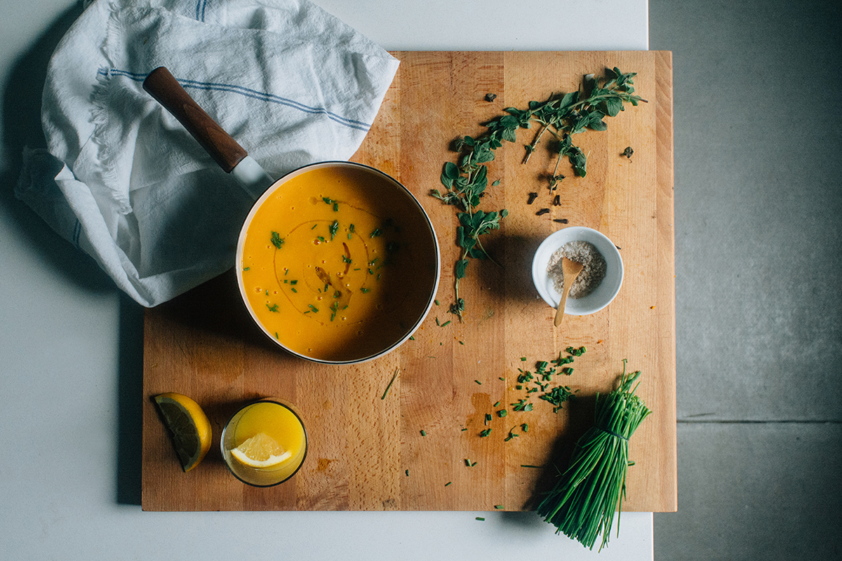Ginger-Orange Squash Soup (AIP/Paleo)
