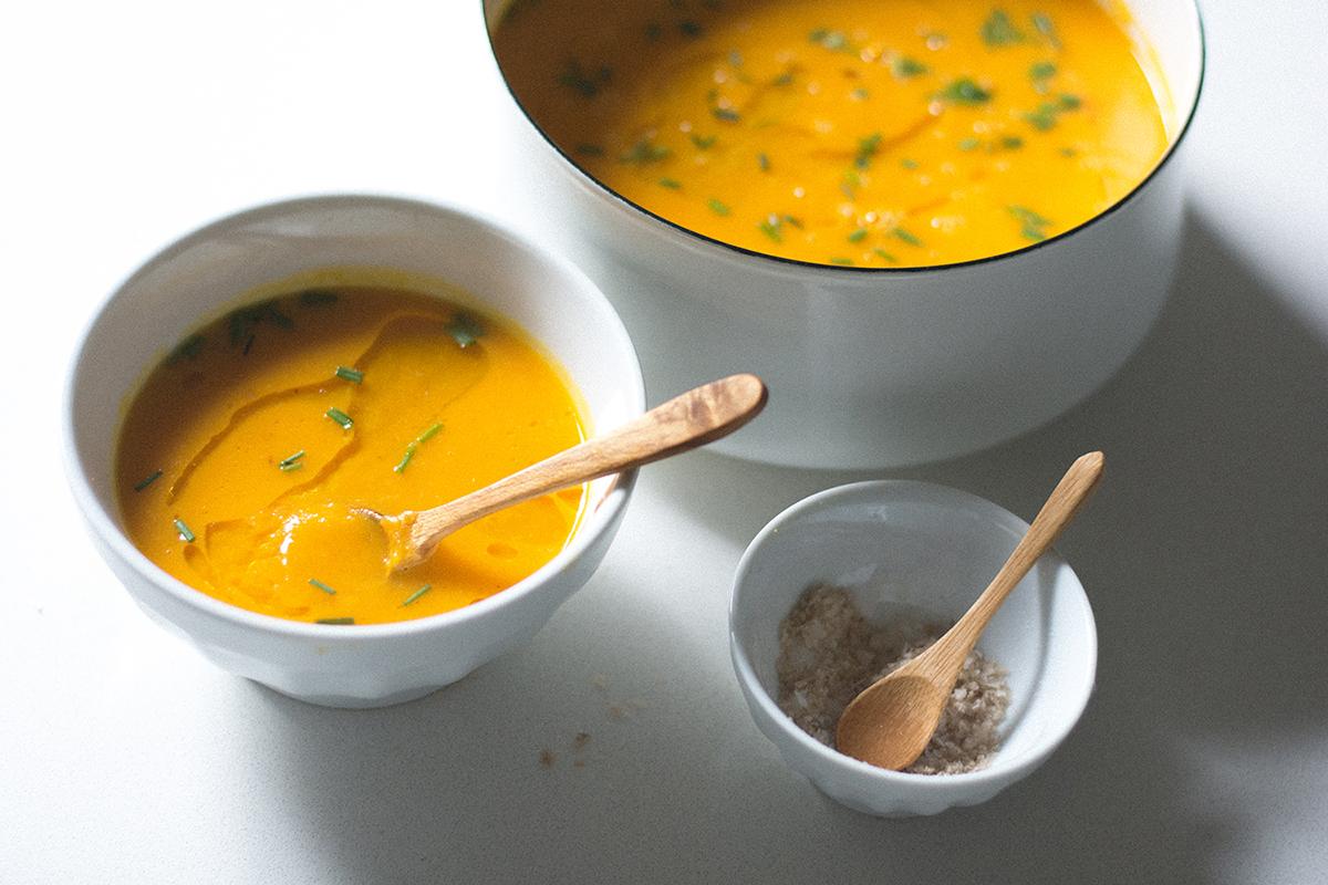 Ginger-Orange Squash Soup (AIP/Paleo)