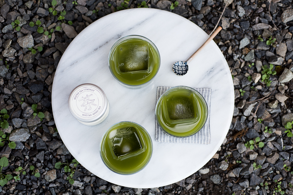iced honey matcha (AIP/Paleo) » itsmecharlotte.com