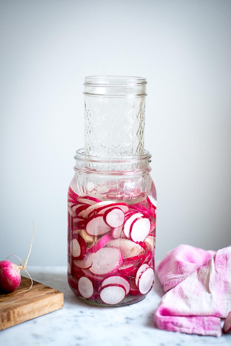 Lacto-Fermented Radishes » itsmecharlotte.com