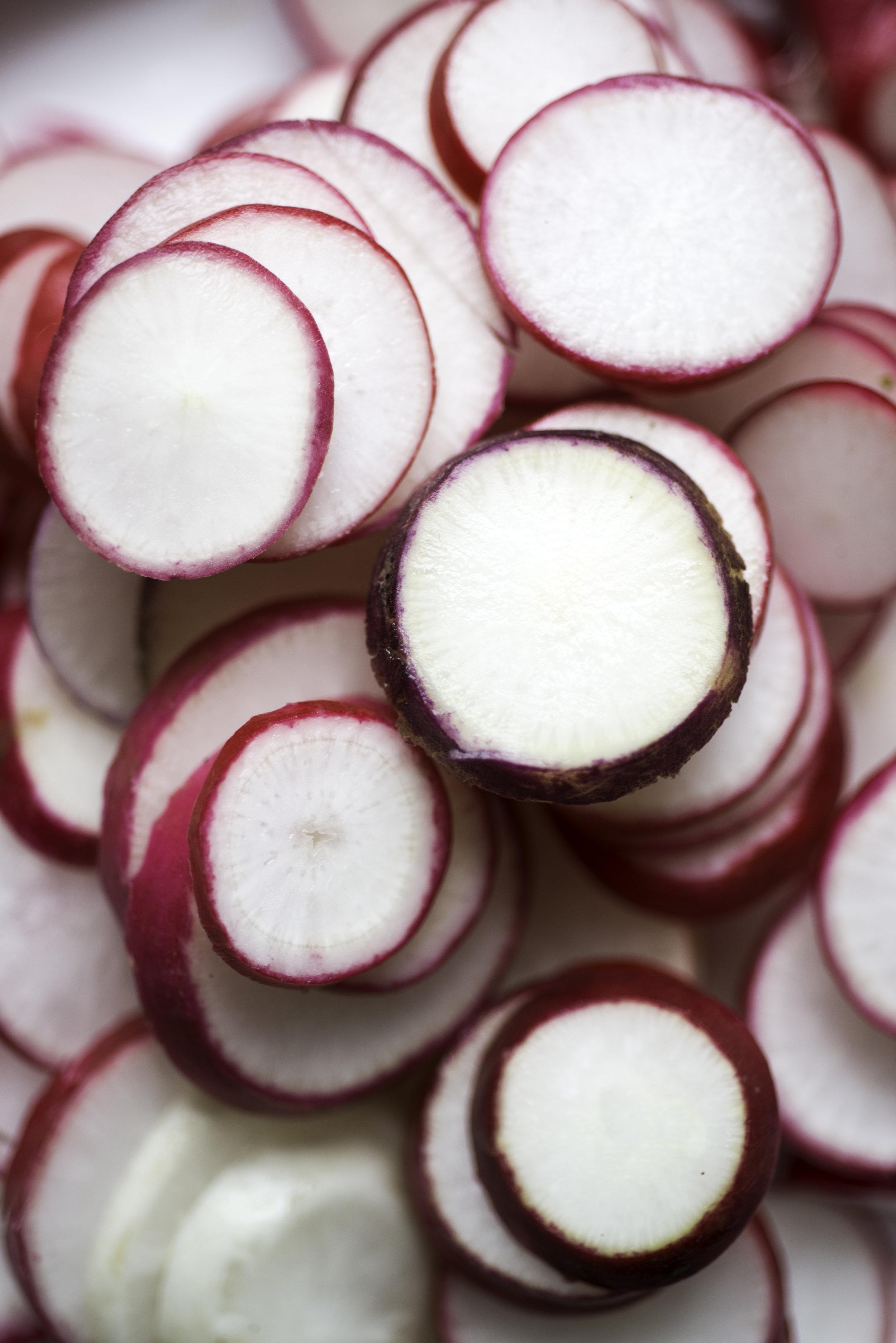 Garlic Fermented Radishes (AIP/Paleo) » itsmecharlotte.com