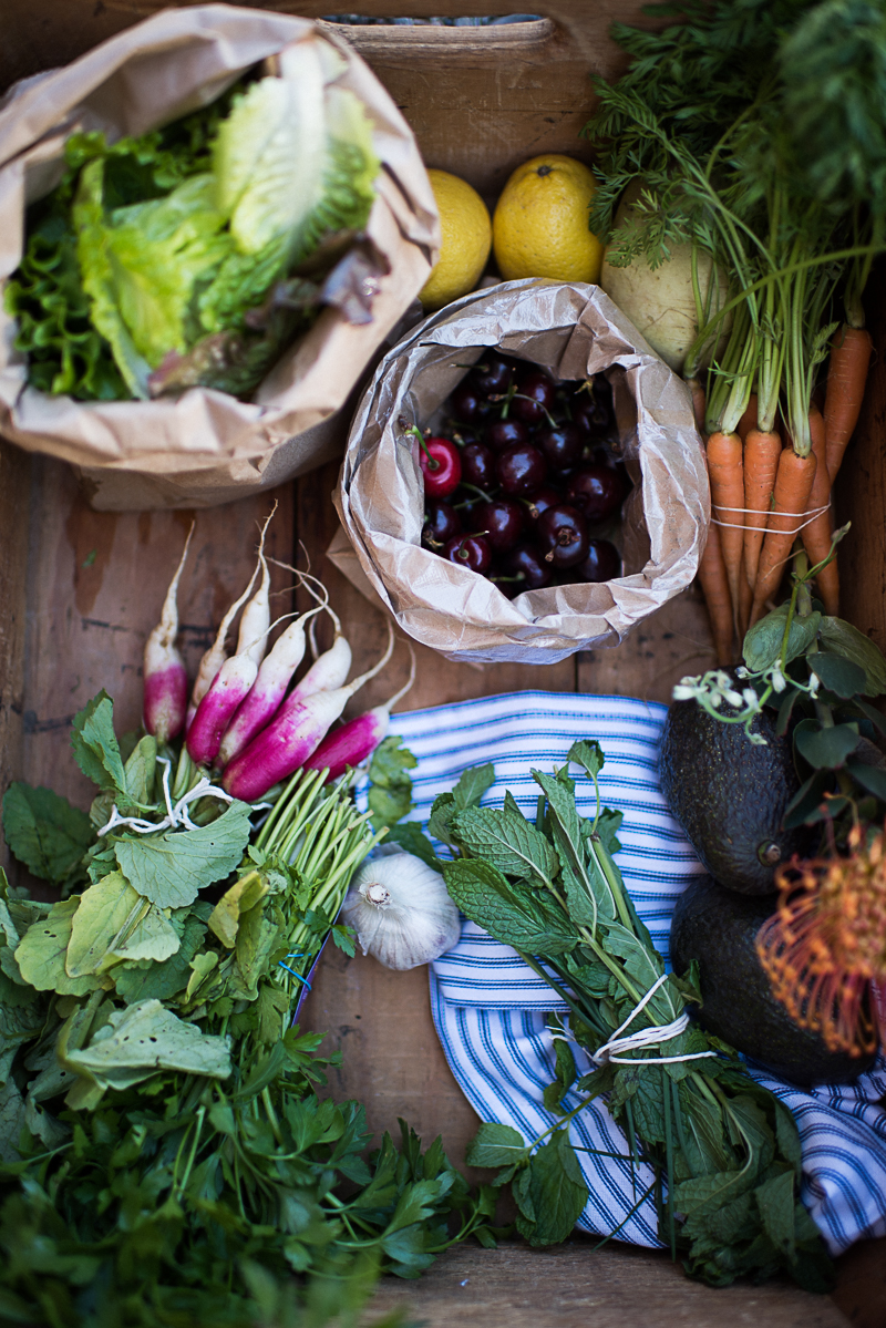 vibrant summer salad (veggie-dense, aip, paleo)