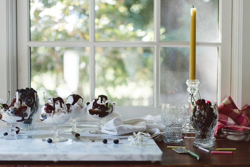 Magic Shell Ice Cream Sundaes (Paleo) » itsmecharlotte.com