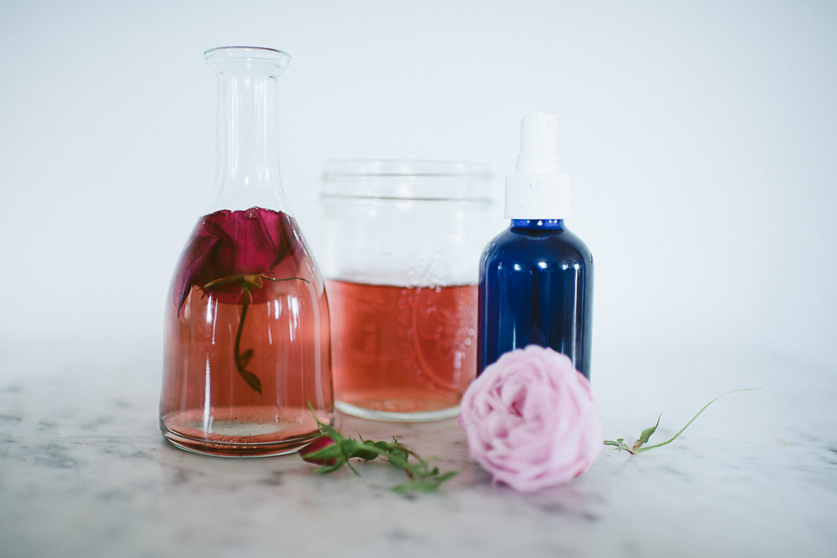 Culinary Rose Water and Facial Toner | itsmecharlotte.com