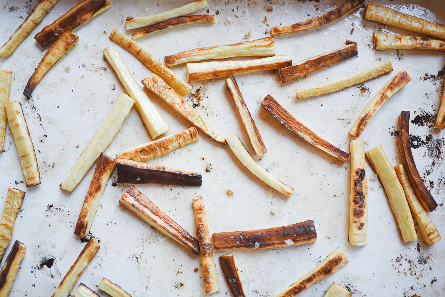 parsnip fries with truffle aioli