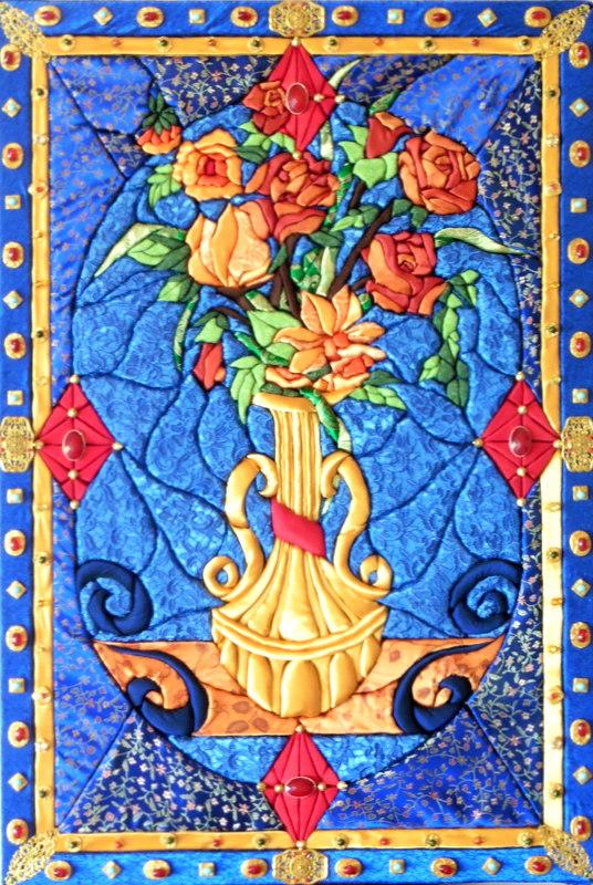 TRIPTYQUE DE FLORENCE (93x63) panneau central