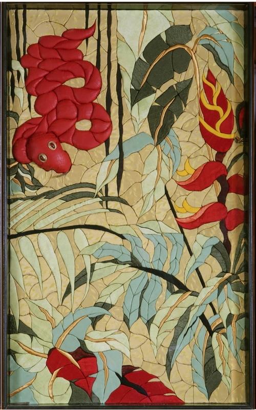 TRIPTYQUE D'UNBUMBA (117x69) panneau central