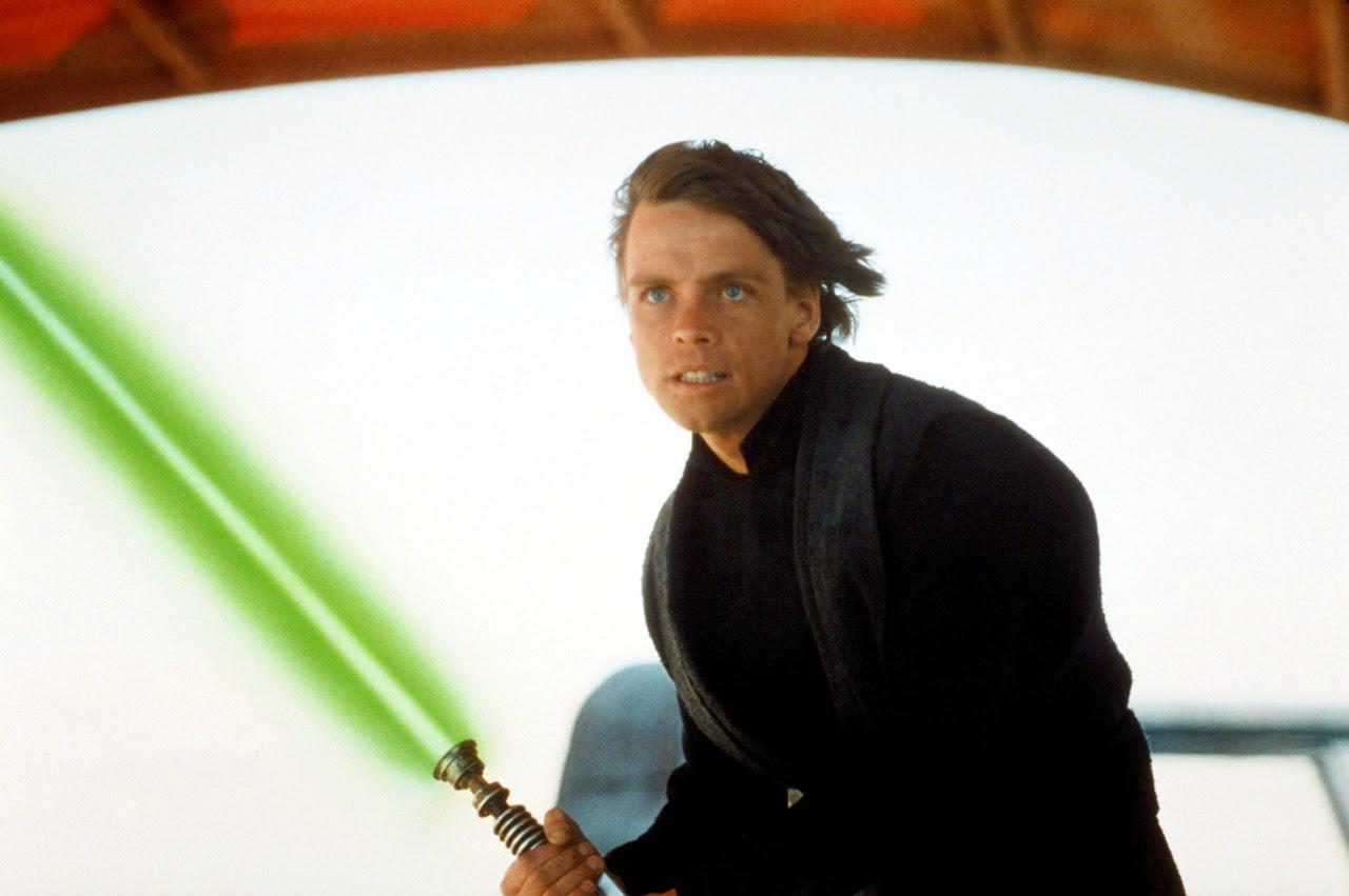 The real reason Luke Skywalker has a green lightsaber