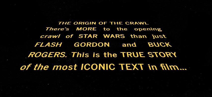 The Origin Of The Crawl