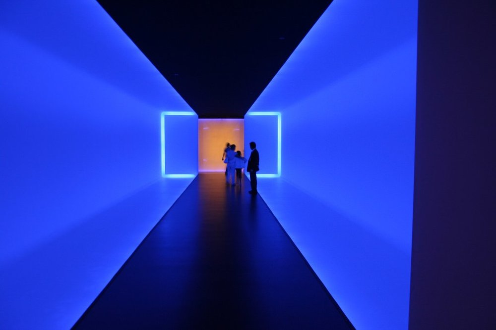 James Turrell's  The Light Inside . Photo by Miguel Da Silva, via Wikimedia Commons.