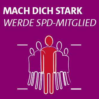 Mach dich stark - werde SPD-Mitglied