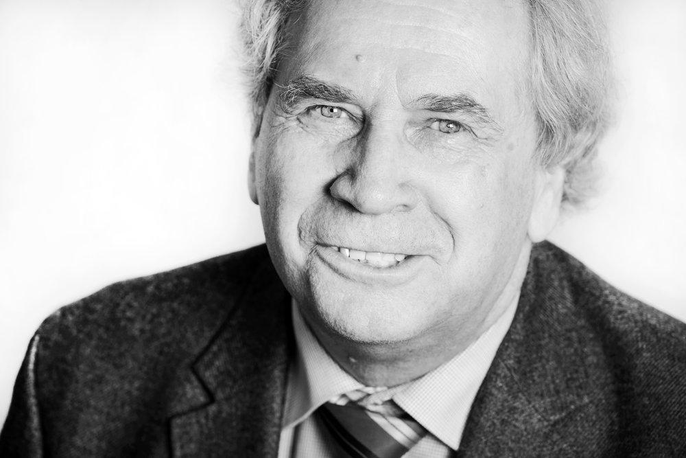 Schwarz-Weiß Porträt Holm Sternbacher