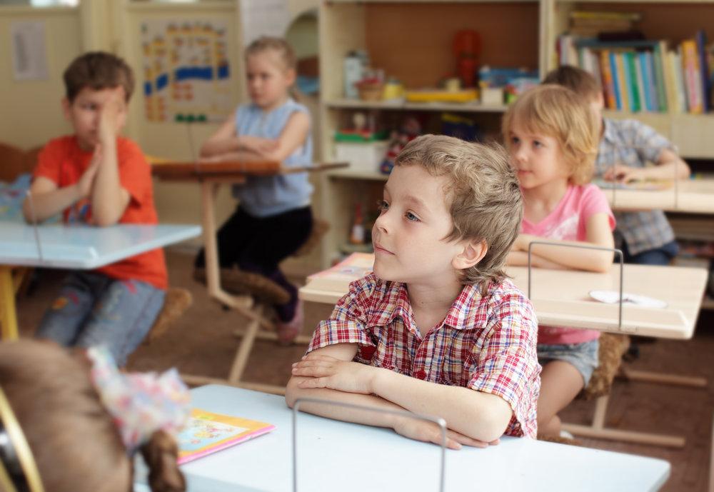 Schulklasse - colourbox