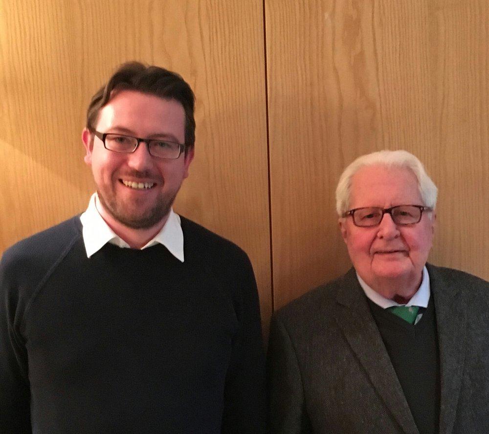 Frank Diembeck und Dr. Hans-Jochen Vogel
