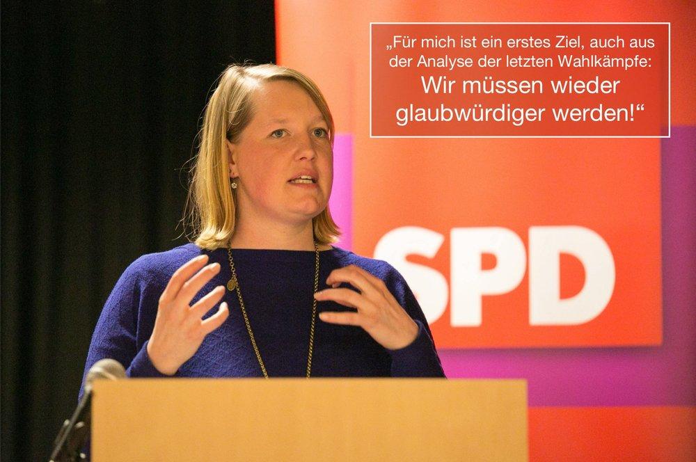 Wiebke Esdar, Vorsitzende der SPD Bielefeld