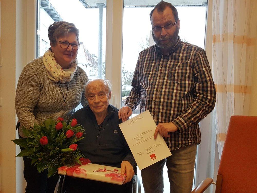 (v.l.n.r.) Melanie Grbeva, Bernd Möller, Frank Mühlenweg