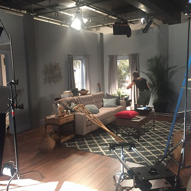 Onset today for a big shoot!  #productionlife #setdesign #creative #onset