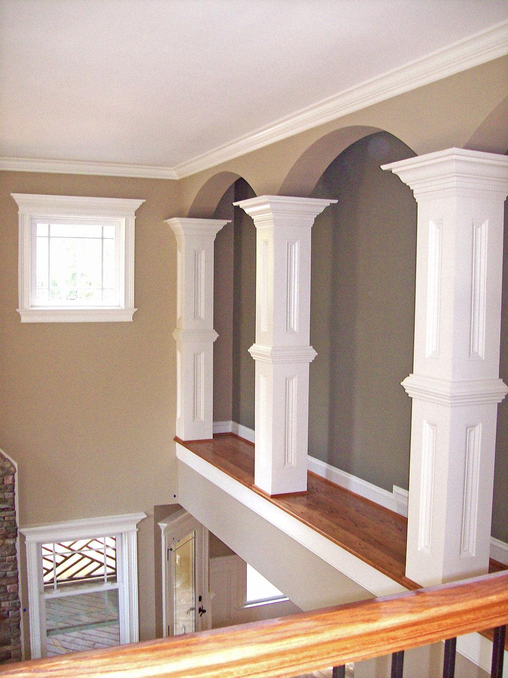 Square Interior Columns