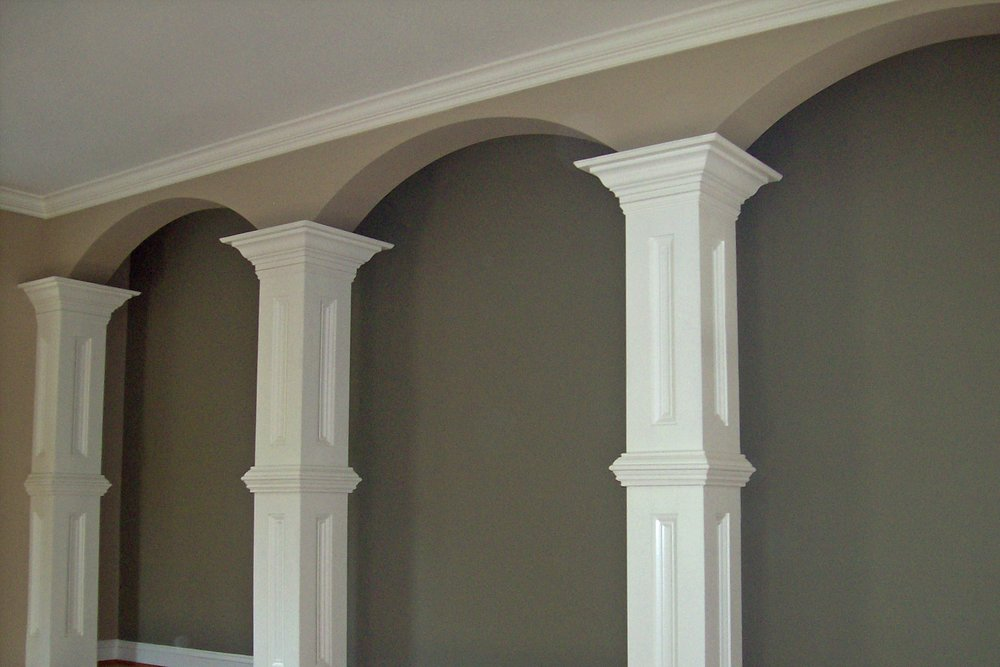 Square Decorative Interior Columns