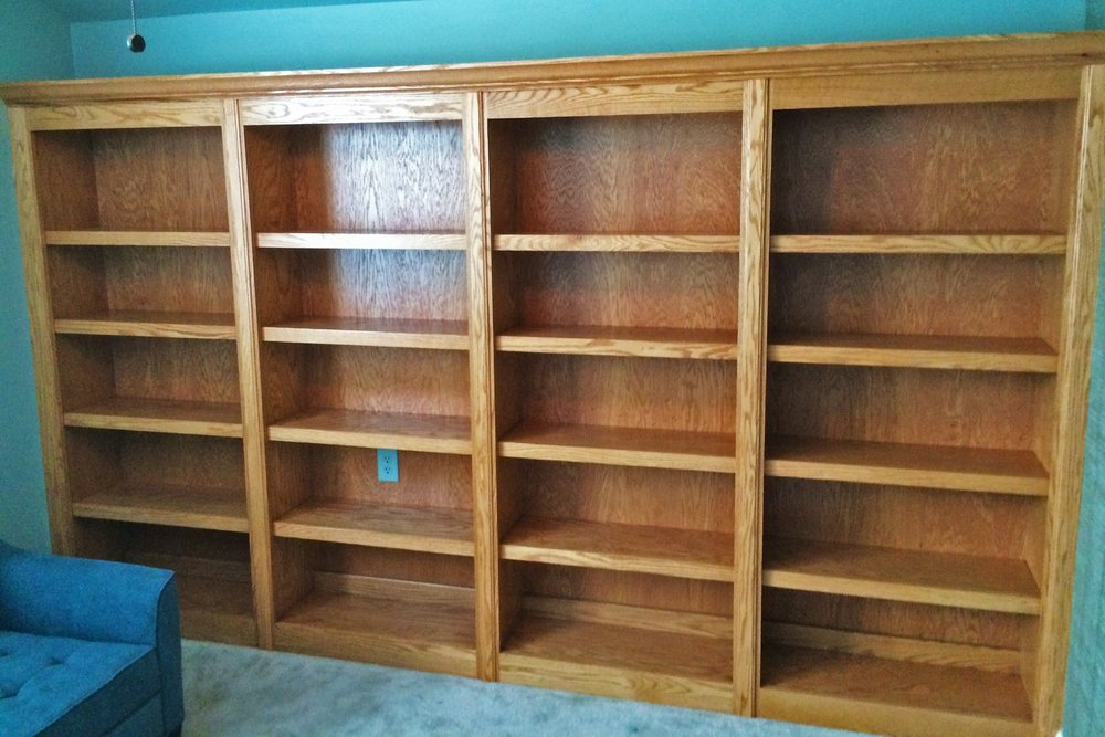 Stain Grade Bookcase