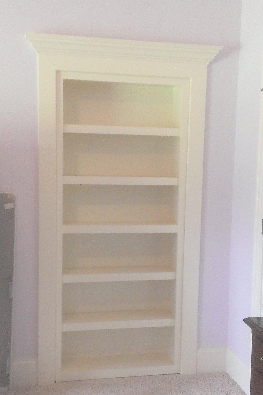 Custom Bookshelf Door