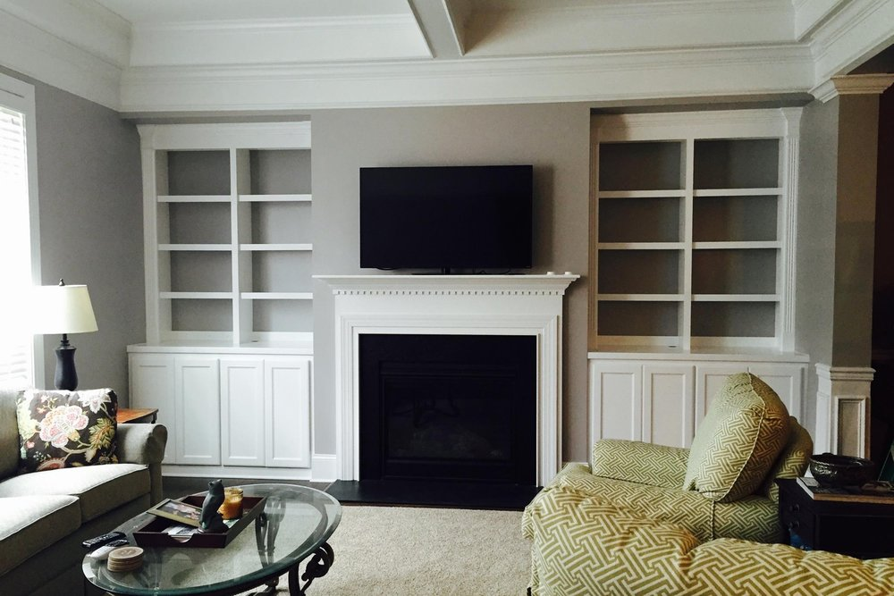 Mantel Built-in Cabinet  Grey Accent  Built-ins.jpg