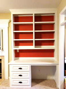 Built-in Desk with Salmon Accent Backing.jpg