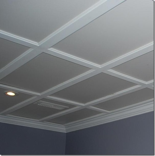 Flat Coffered Ceiling