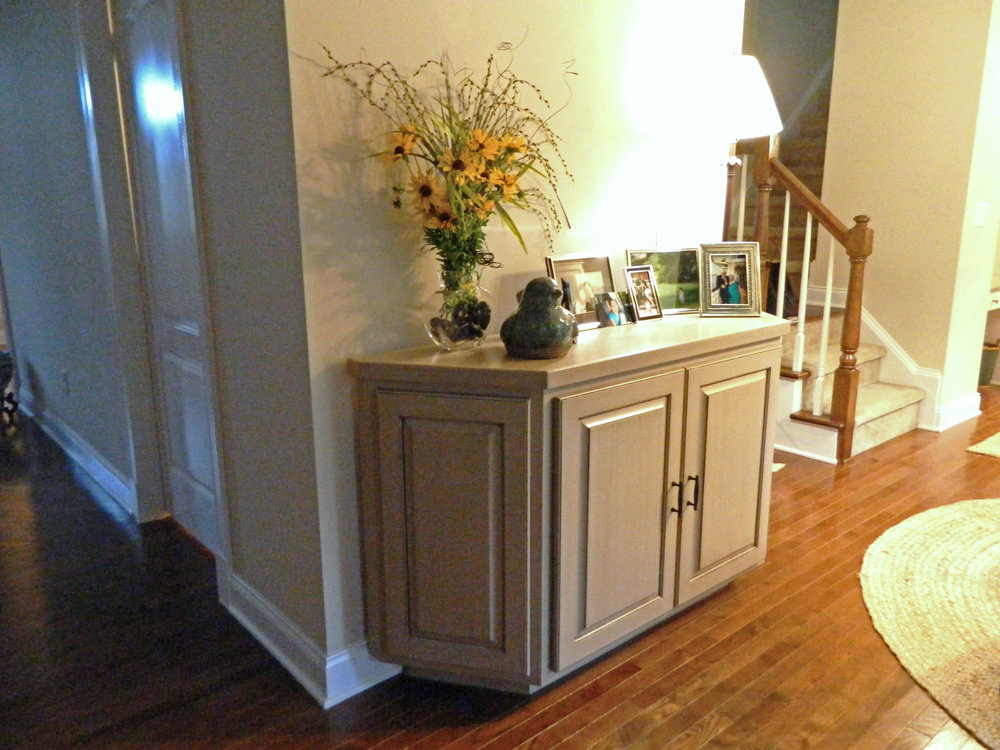 Built-In Entryway Credenza