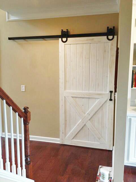 Half X-Brace Barn Door
