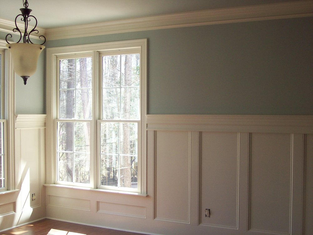 Craftsman Style Recessed Panels