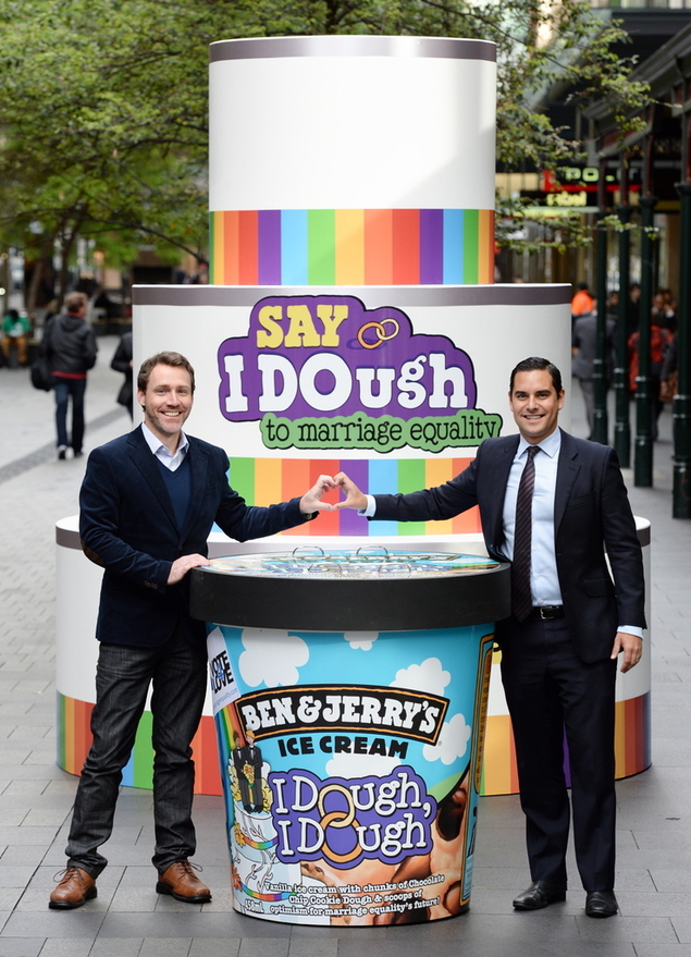 Ben & Jerry's in support of marriage equality