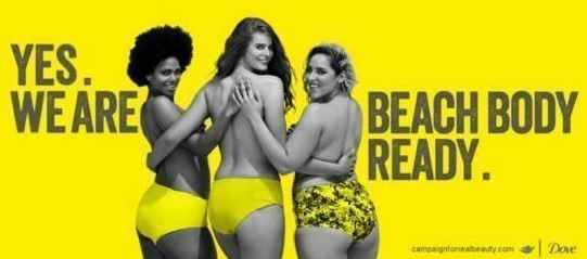 dove yes we are beach body ready