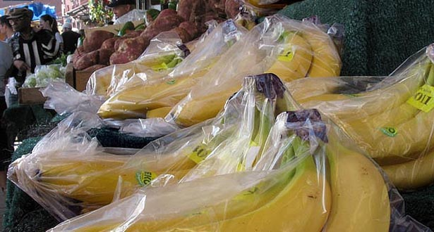 bananas in a bag
