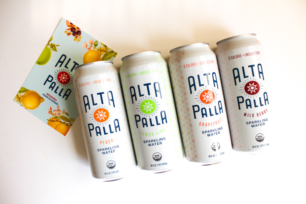 "Alta Palla  (""high ball"" in Italian) beverages are made from organic and fair trade ingredients and contain less sugar than most of their competitors."