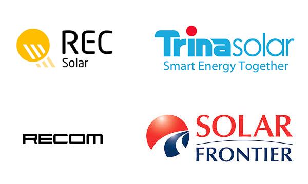 rec solar trina solar recom solar frontier zonnepanelen