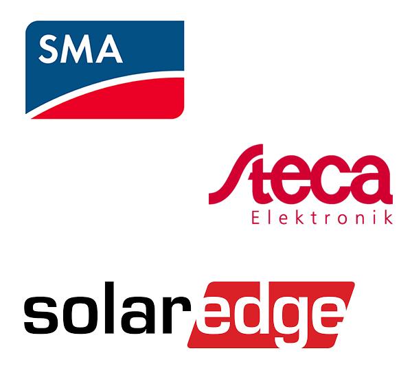 sma steca solar edge omvormers zonnepanelen