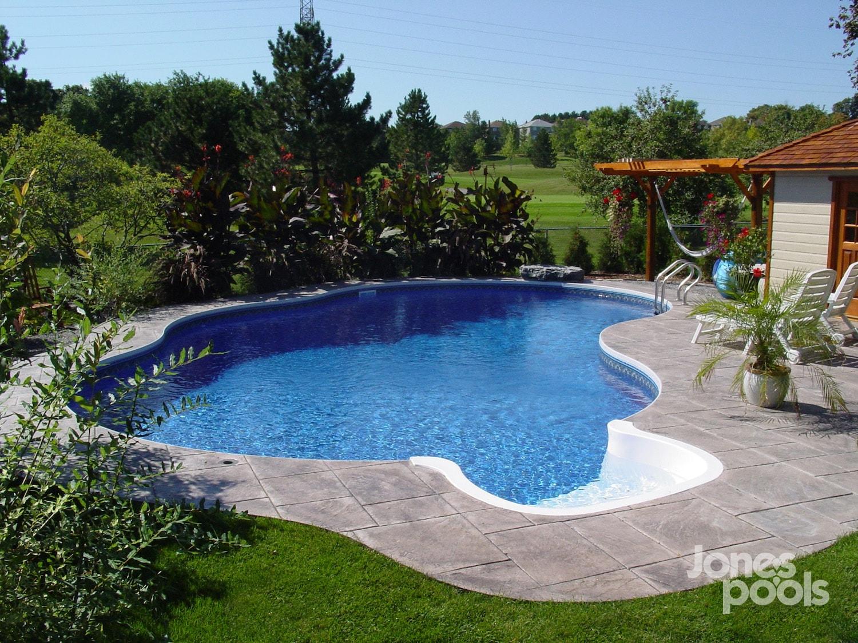 Vivid Blue Premier Megna Pools