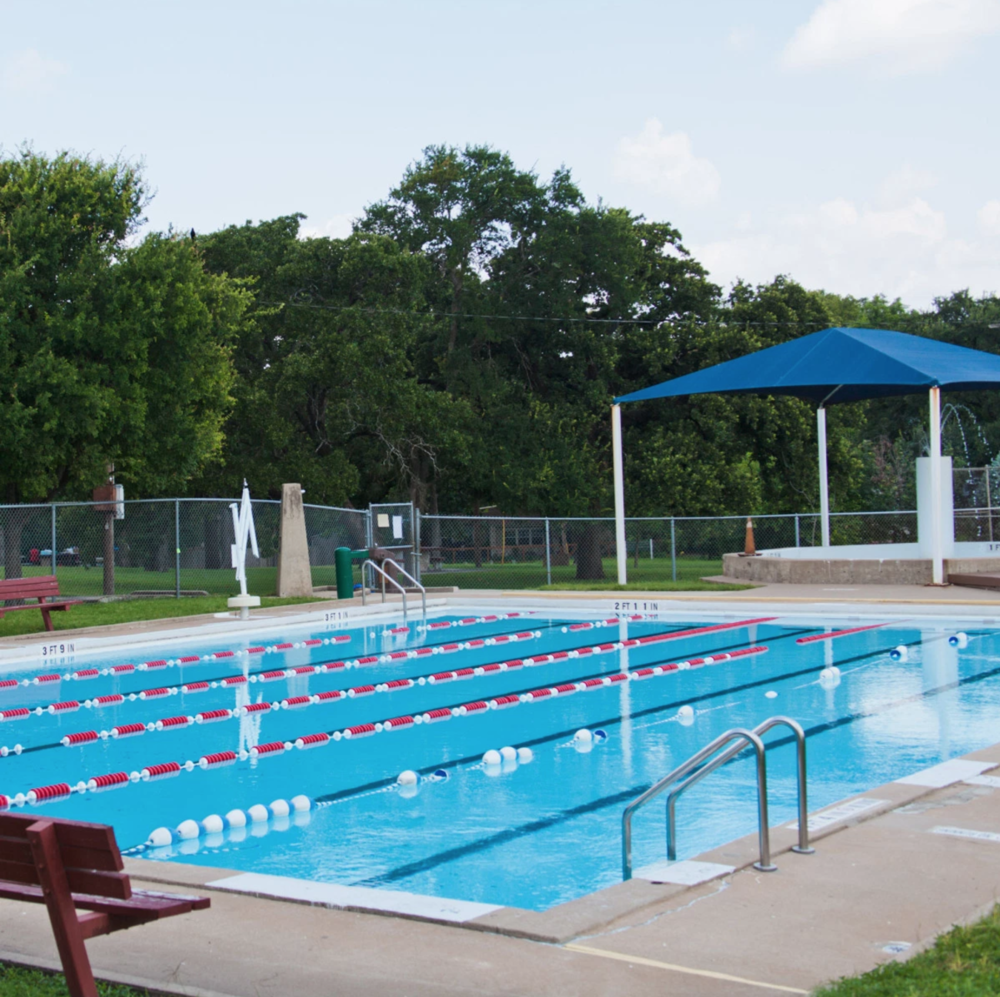 Pool Hours   The Patterson Park Swimming Pool is located at 148 S. Linwood Avenue.  The Pool officially opens for the season annually in mid-June.  Visit the  Patterson Park Public Pool Facebook Page  for more information, rules and hours.   Cost  $2 per visit $30 for individual season pass; kids under 3 admitted FREE.