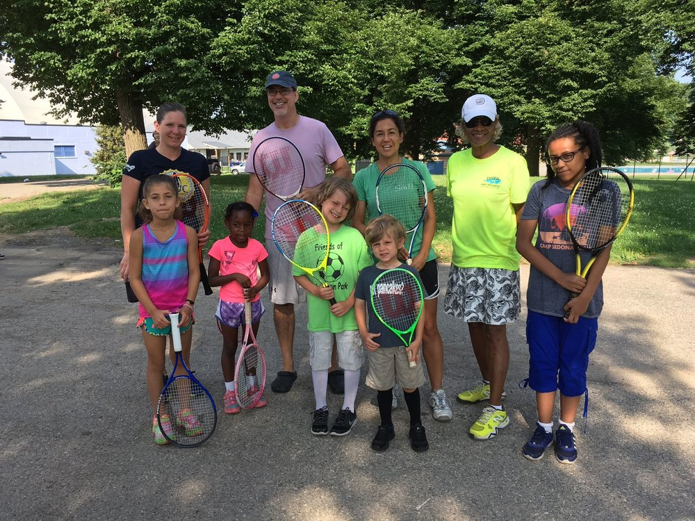 We provide FREE Zumba, exercise groups, tennis and soccer clinics, and with your support, can work on new opportunities for fitness in the park!