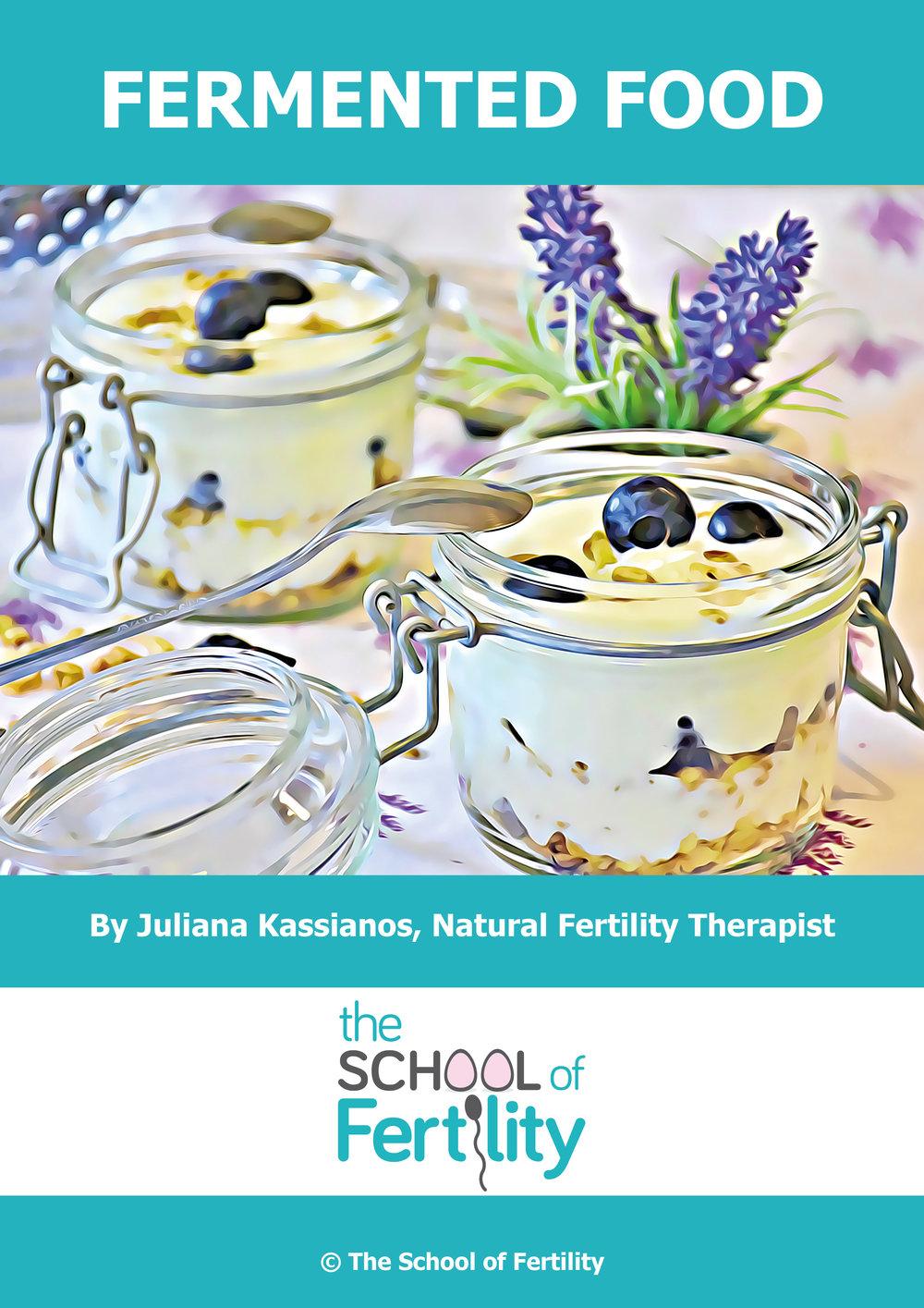 Fermented food (c) The School of Fertility