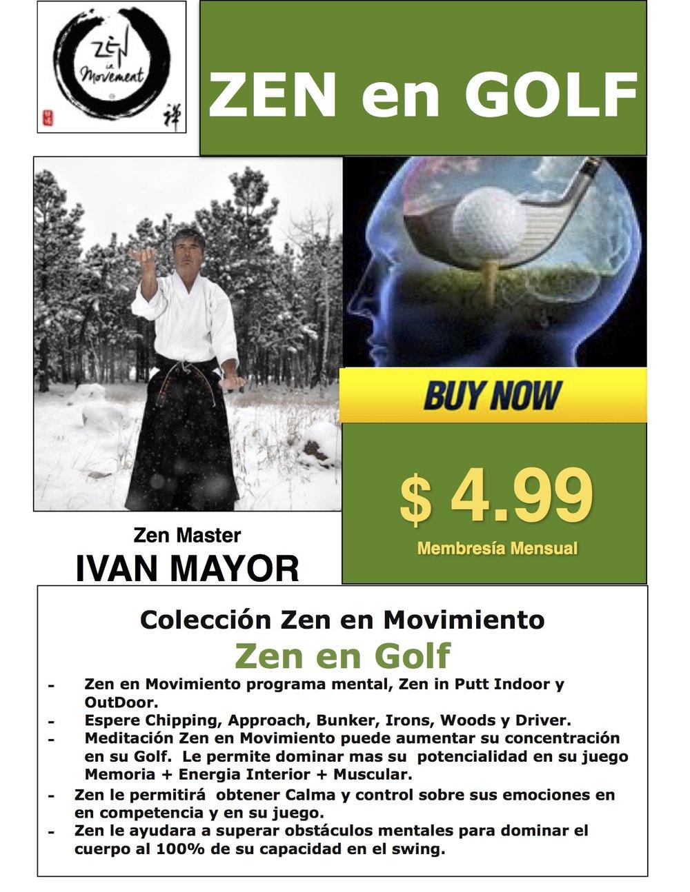 ZEN en PUTT InDoor & OutDoor, mas Zen Meditaciones... CLICK EN EL FLYER